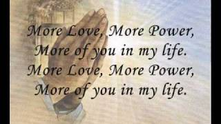 More love more power-Lyrics