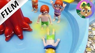بلايموبيل فيلم - جوليان يتبول فى حمام سباحة أكوابارك! ومثير للاشمئزاز! سلسلة أسرة الطيور