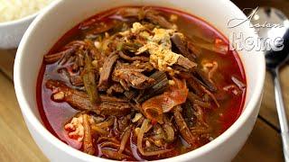 Yukgaejang Korean Spicy Beef Stew