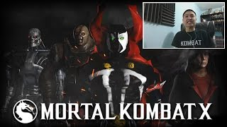 Mortal Kombat X - T-600, Nemesis, Spawn, & Jigsaw Reveal! [unCAGEDgamez Reaction]