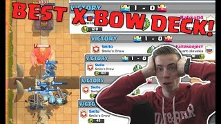 BEST X-BOW DECK! - Clash Royale | Let's Play |
