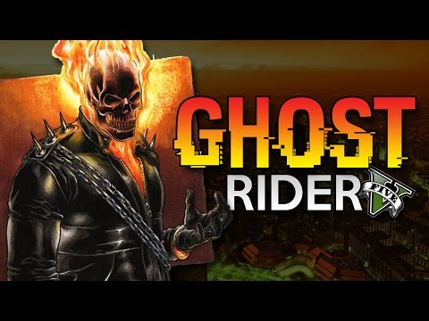 GTA 5 PC Mod - GHOST RIDER !! - Bahasa Indonesia (Engga Lucu + Ngakak)