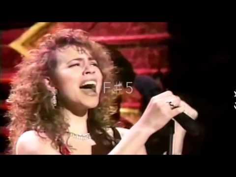 Mariah Carey vs Susan Huang (黄绮珊) - Live Belts (C5 - A5)