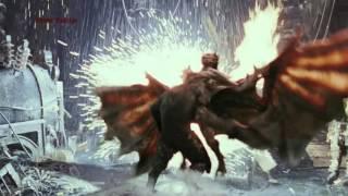 Vanhelsing werewolf battle part 1
