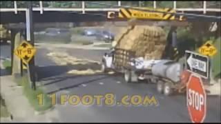 11Foot8 Bridge Crash Compilation PART 1 (2008-2013)