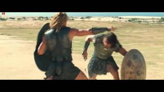 troy the Movie Hector vs Achilles.