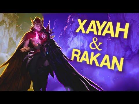 Instalok - Xayah and Rakan ft Sarah Lee (Miike Snow - Genghis Khan PARODY)