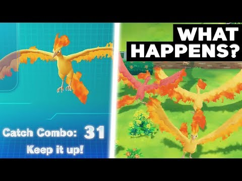 What Happens If You Catch Combo 31 Legendary Pokémon In Let s Go Pikachu Eevee We Find A Shiny