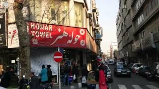 خیابان ولیعصر، راه آهن تا تجریش |  Valiasr St., Rahahan Sq. to Tajrish Sq
