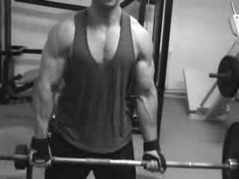 Czech young bodybuilder