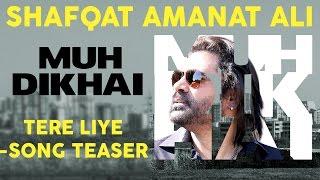 Tere Liye (Shaayari Teaser) | Shafqat Amanat Ali | Muh Dikhai | New Romantic Songs Album