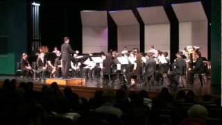 ERHS Symphonic Band (Second Suite in F 4th Mvt)
