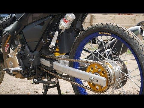 DKT alloy swimgarm raider 150 fi thaiconcept project