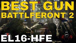 Star Wars Battlefront 2 - Game Com - EL-16HFE Fully Upgraded Amazing Gun!