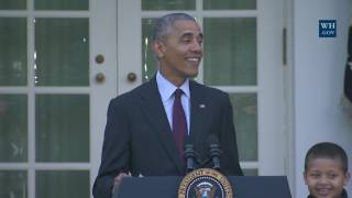 President Obama Pardons the National Thanksgiving