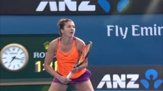 Margarita Gasparyan v Yulia Putintseva highlights (3R) | Australian Open 2016