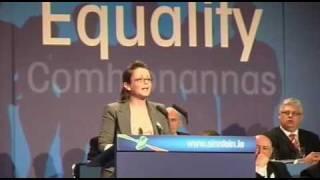 Kathryn Reilly Ard Fheis 2010 on Jobs.mp4