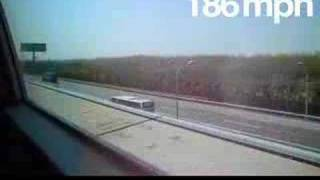 The Shanghai Maglev Train - 250mph - from WINDING ROAD