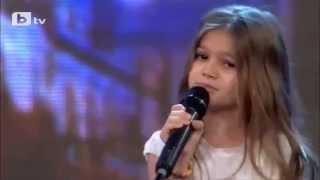 8 year old girl-Polya Ivanova-Singing Listen by Beyonce