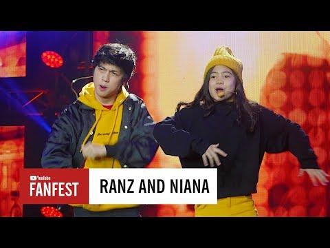 Xxx Mp4 Ranz Kyle Amp Niana Guerrero YouTube FanFest Indonesia 2017 3gp Sex