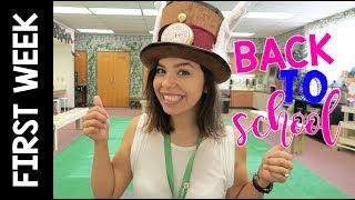 First Week Back to School | Teacher Vlog | Week 1