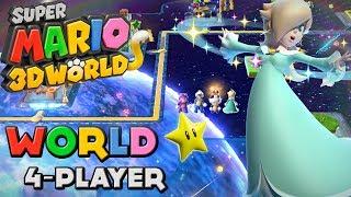 Super Mario 3D World - World Star (4-Player)