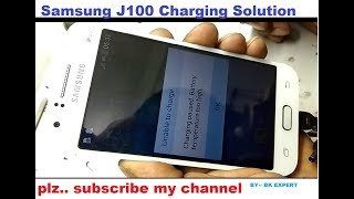 Samsung J100 Charging Paused Battery Temperature To High Solution
