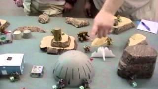 Heavy Gear  SRA vs UMF battle report 12-18-2010
