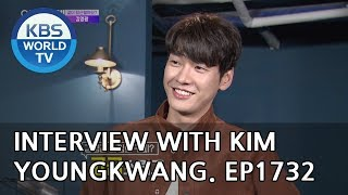 Leaving Work with Stars: Kim Youngkwang [Entertainment Weekly/2018.10.08]