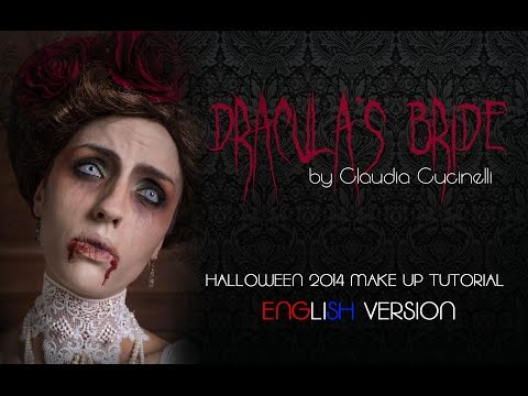 DRACULA'S BRIDE Halloween 2014 Make Up Tutorial | Gothic Vampire Victorian