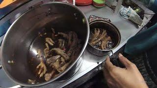 Greater Jakarta Street Food 883 Karawang 9 Merapi Chicken Feet 4K Part.1 Ceker Merapi 4K  5715