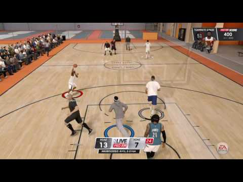 NBA LIVE 16 THEE BEST GAME I EVER HAD
