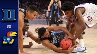 Duke vs. Kansas Men