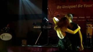 Brazil & Austrialian Couple Dancing Zouk