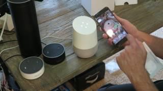 Google Home vs. Amazon Alexa