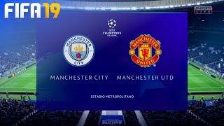 FIFA 19 Demo - Manchester City vs. Manchester United @ Estadio Metropolitano