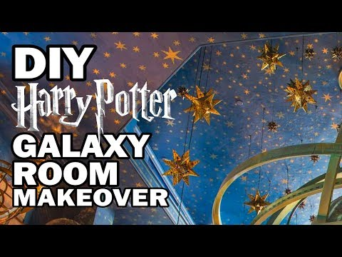 DIY Galaxy Room Makeover Corinne Vs Decor