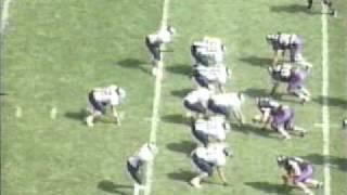 Rice 40 Northwestern 34 (1997 2nd half)