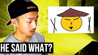 ASIAN GUY REACTS TO 'THE ASIAN PEOPLE SONG' (REACTION)