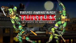 Teenage Mutant Ninja Turtles Mutants in Manhattan All Cutscenes  (full movie)
