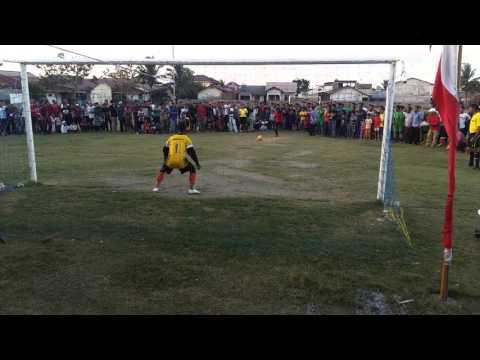 Adu finalti paling menegangkan Setda Aceh Juara 1 sepak bola dalam Rangka Hari Perkebunan Aceh