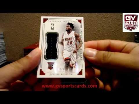 2015-16 Panini National Treasures Basketball 4 Box Case Break Pick Your Team #4