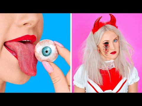 SPOOKY HALLOWEEN DIY IDEAS Last Minute Halloween Costumes And Crafts by 123 GO