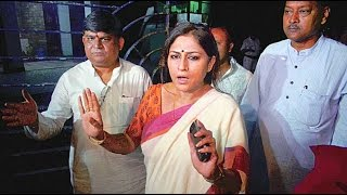 Rupa Ganguly Pushes TMC's Woman Worker | Full Video Footage