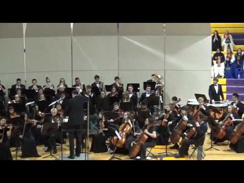Berceuse and Finale from 'Firebird Suite' - District 214 Honor Orchestra - April 2017
