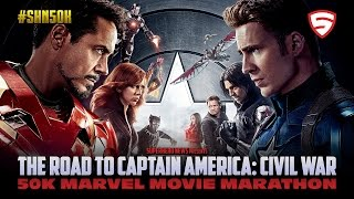 #SHN50K: Marvel Movie Marathon - Iron Man 3 to Guardians of the Galaxy