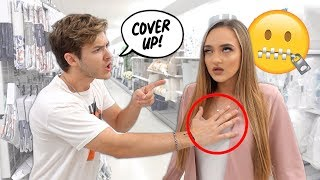 Being An OVERPROTECTIVE BOYFRIEND To See How My Girlfriend Reacts!!