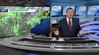 Watch: Breezy with some lingering showers