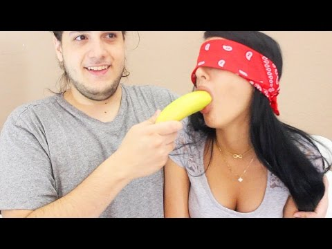WHATS IN MY MOUTH CHALLENGE (BF vs GF Challenge)