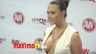 Chanel Preston at 2012 AVN AWARDS Show Red Carpet Arrivals